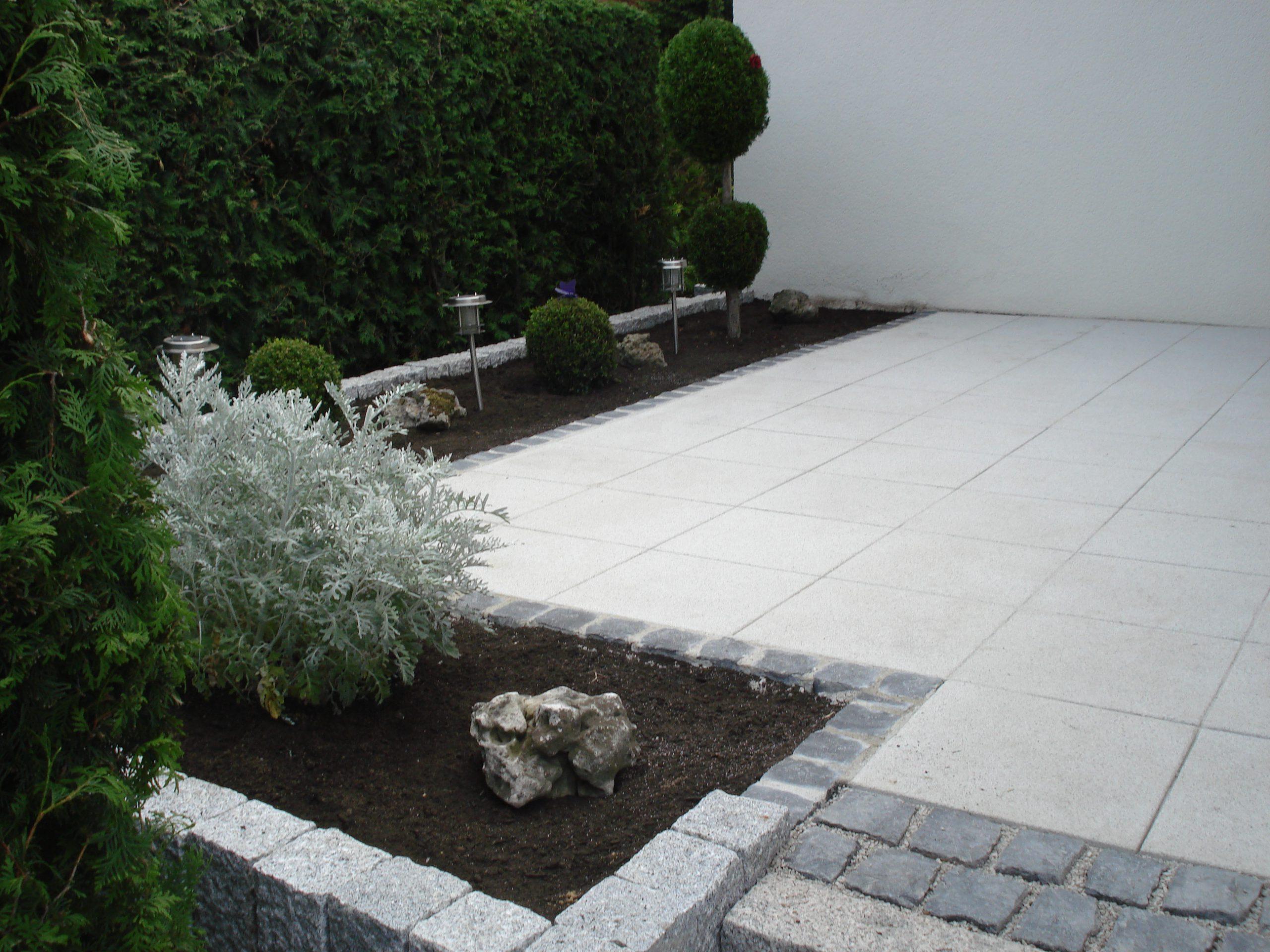 Granitpalisaden 12x12cm