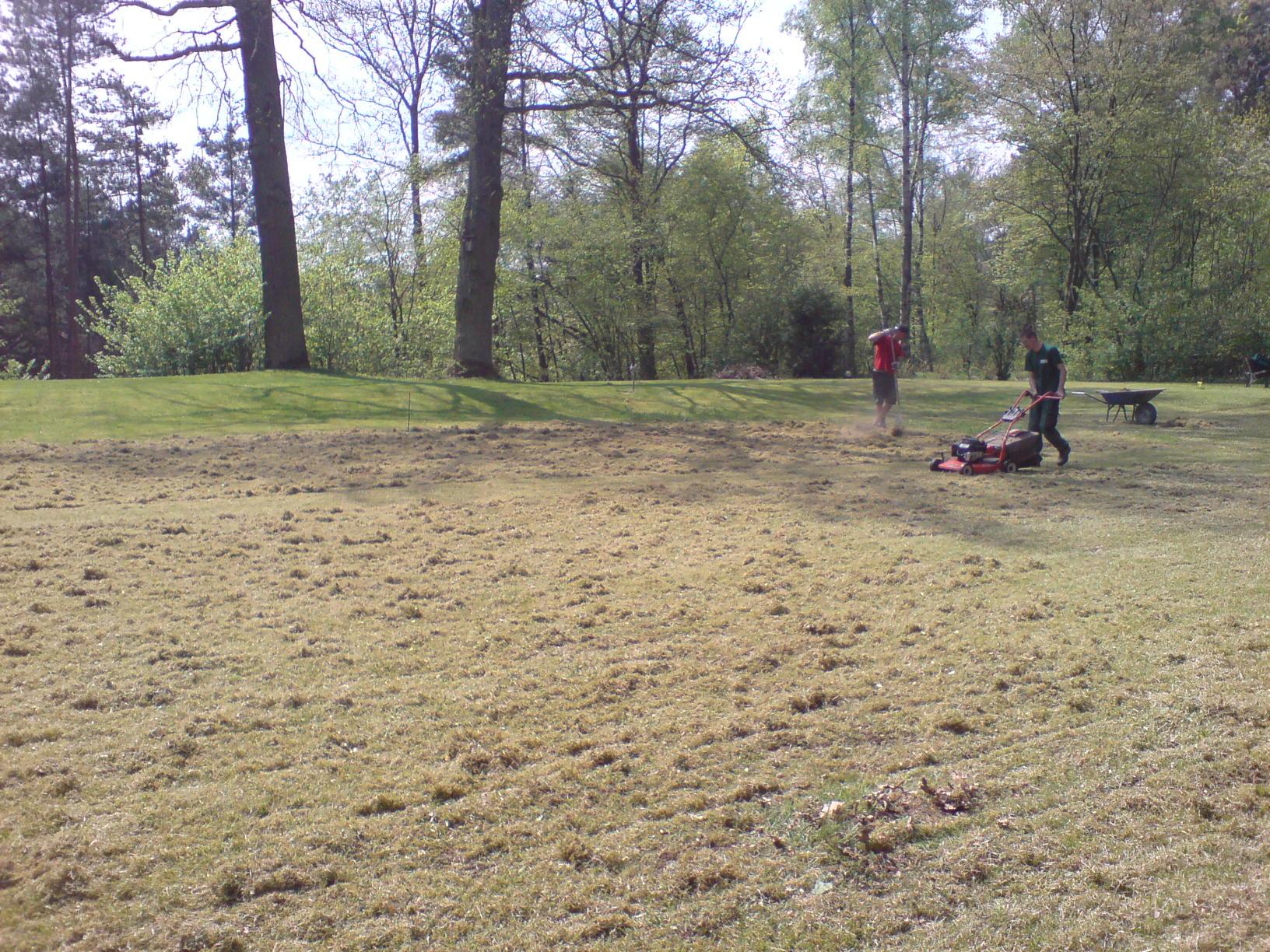Pflegearbeiten im Garten